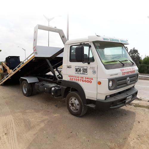 Camión Grúa Hidráulica
